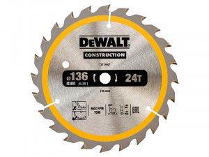 DEWALT, Cordless Construction Circular Saw Blade