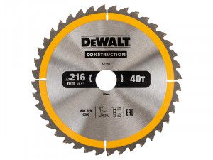 DEWALT, Stationary Construction Circular Saw Blade
