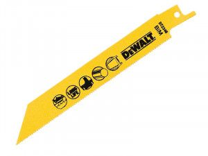 DEWALT, Bi-Metal Reciprocating Blade for Cordless Saws