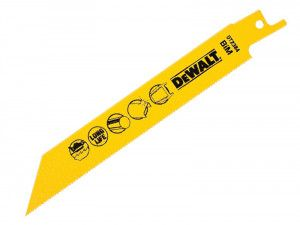 DEWALT, Bi-Metal Metal Cutting Reciprocating Blade