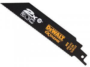 DEWALT DT2407L 2X Life Reciprocating Metal Saw Blades 152mm 14/18 TPI (5)