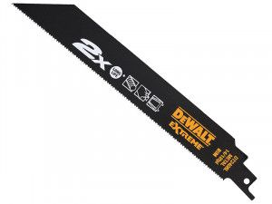 DEWALT 2X Life Metal Reciprocating Blades 203mm Pack of 5