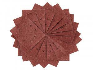 DEWALT Pre Punched 1/4 Sanding Sheets Medium/Fine 100 Grit (Pack of 25)