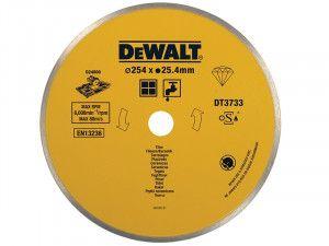 DEWALT Ceramic Diamond Tile Blade 254 x 25.4mm