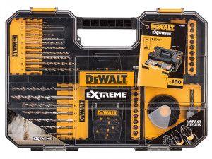DEWALT Extreme Drill & SDS Set 100 Piece