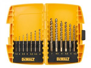 DEWALT DT7920BQZ Small Tough Case Metal Drill Set 13 Piece