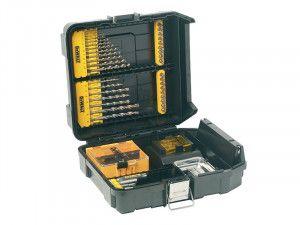 DEWALT DT9281 Mini MAC Masonry & Metal Drilling Kit Set 63 Piece
