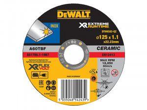 DEWALT FlexVolt XR Metal Cutting Disc 125 x 1.1mm