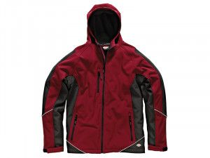Dickies, Two Tone Soft Shell Red/Black Jacket