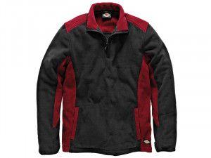 Dickies, Two Tone Micro Fleece Red/Black