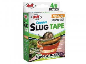 DOFF Slug & Snail Adhesive Copper Tape - CDU 4M