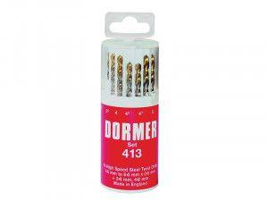 Dormer, A094 HSS Jobber Drills in Round Plastic Cases