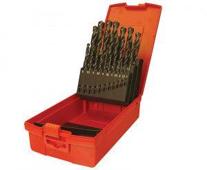 Dormer A190 No.12 Number HSS Drills Set of 60