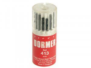 Dormer, A191 High Speed Steel Drill Set - Metric
