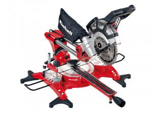 Einhell TC-SM 2131 Dual Sliding Mitre Saw & Laser 210mm 1800W 240V