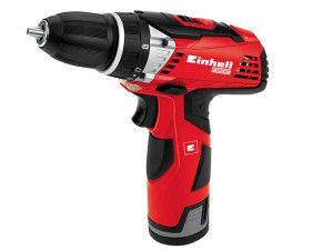 Einhell TE-CD 12Li Cordless Drill Driver 12V 2 x 1.3Ah Li-Ion