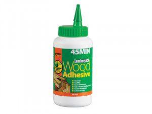 Everbuild Lumberjack 45 Min Polyure Wood Adhesive Liquid 750g