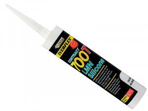 Everbuild, PVCu & Roofing Silicone Sealants 700T