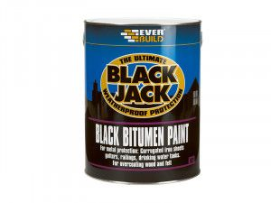 Everbuild, Black Jack 901 Black Bitumen Paint