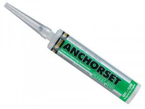 Everbuild Green 300 Anchorset Chemical Anchor 300ml