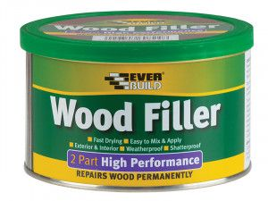 Everbuild, Wood Filler, 2 Part High Performance
