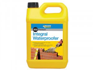 Everbuild 202 Integral Liquid Waterproofer 5 Litre