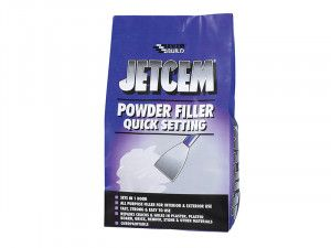 Everbuild Jetcem Quick Set Powder Filler (Single 3kg Pack)