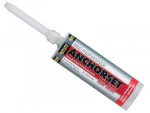 Everbuild Red 380P Anchorset Chemical Anchor 410ml
