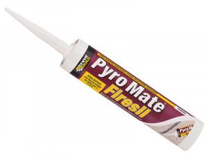 Everbuild Pyro Mate Firesil White 295ml