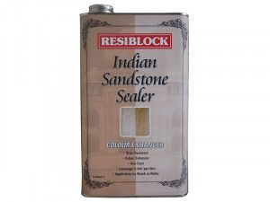 Everbuild Resiblock Indian Sandstone Sealer, Colour Enhancer 5 Litre