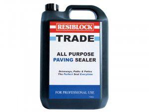 Everbuild Resiblock All Purpose Paving Sealer 5 Litre (Trade)