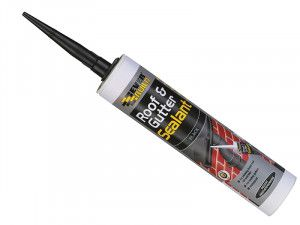 Everbuild Roof & Gutter Sealant Black 295ml