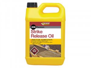 Everbuild 206 Strike Release Oil 5 Litre