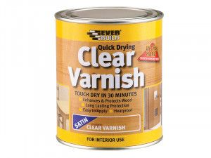 Everbuild, Quick Dry Wood Varnishes