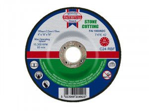 Faithfull, Depressed Centre Stone Cutting Discs