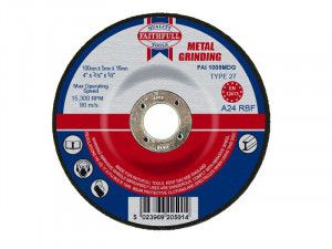 Faithfull, Depressed Centre Metal Grinding Disc