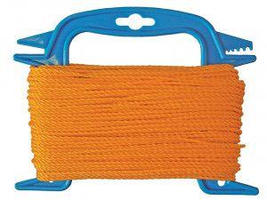 Faithfull 306 Polyethylene Ranging Line 30m (100ft) Orange