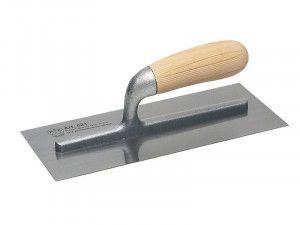 Faithfull 821 Plastering Trowel Wooden Handle 11 x 4.3/4in