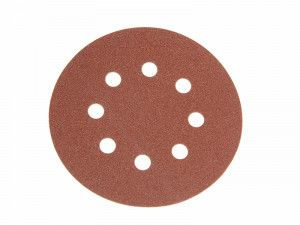 Faithfull, Hook & Loop Sanding Discs 125mm DID3