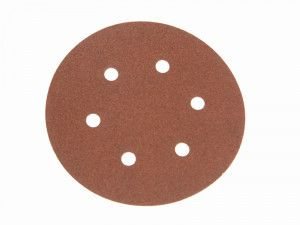 Faithfull, Hook & Loop Sanding Discs 150mm DID2