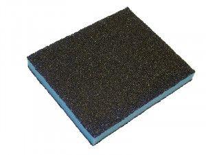 Faithfull Contour Sanding Pads Assorted Grades 120 x 100 x 13mm (3)