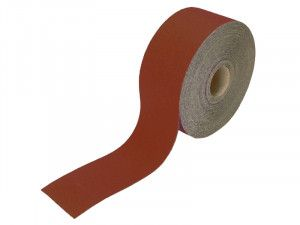 Faithfull, 115mm Red Aluminium Oxide Paper Rolls