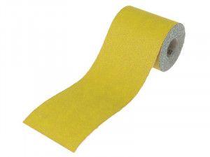 Faithfull, 115mm Yellow Aluminium Oxide Paper Rolls