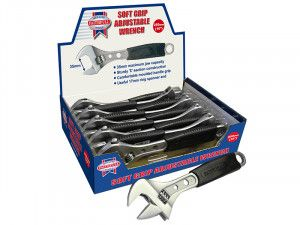 Faithfull Contract Adjustable Spanner 250mm Display (10)