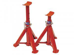 Faithfull Folding Axle Stands 2 Tonnes (Pair)