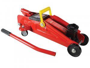Faithfull Hydraulic Trolley Jack 1.5 Tonnes