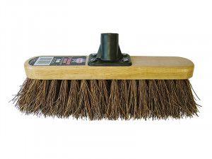 Faithfull Broom Head Bassine Varnished 300mm (12in) Threaded Socket