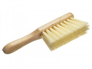 Faithfull Soft Cream PVC Hand Brush 275mm (11in)
