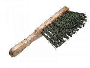 Faithfull Stiff Green PVC Hand Brush 275mm (11in)
