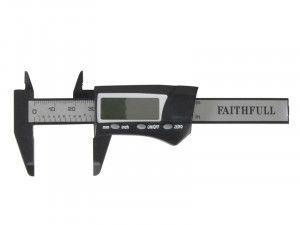 Faithfull Mini Digital Caliper 75mm Capacity